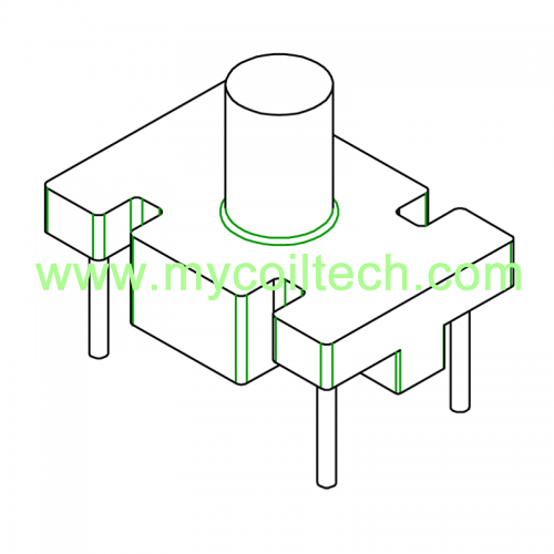 DIP INDUCTOR BASE With T375HF MATERIAL BASE