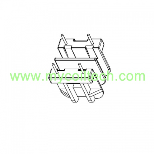 Double Slot Straight Bobbin Transformer Bobbin