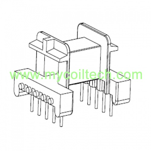 5+5 Pin EF25 Horizontal Transformer Bobbin