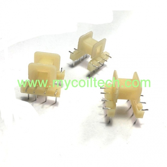 EE19 wire slot transformer bobbin